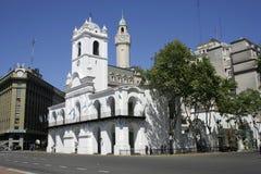 Buenos Aires Cabildo, Sudamerica Fotografie Stock Libere da Diritti