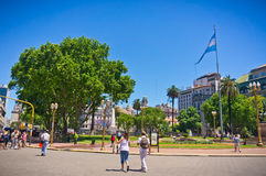 Buenos Aires capital of Argentina Royalty Free Stock Image