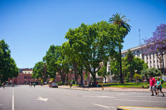 Buenos Aires capital of Argentina Royalty Free Stock Photography
