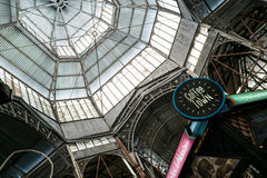 Dome of San Telmo Market Royalty Free Stock Image