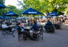 Plaza Dorrego in Buenos Aires Stock Image