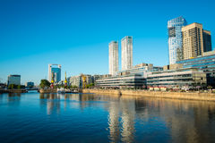 View of Puerro Madero in Buenos Aires Stock Image