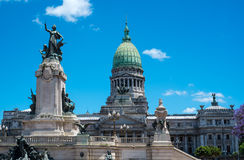 Buenos Aires Congress Monument Stock Photos