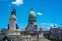 Buenos Aires Congress Monument Stock Photos