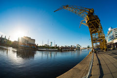 Puerto Madero docks in Buenos Aires Stock Photo