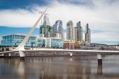 Buenos Aires Cityscape Stock Images