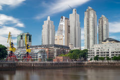 Buenos Aires Cityscape Royalty Free Stock Photo