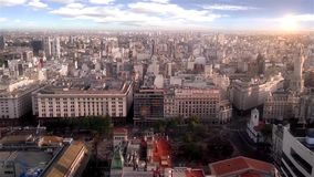 Buenos Aires Cityscape stock video footage