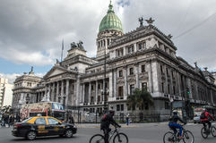 Buenos Aires Congress Royalty Free Stock Photo