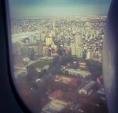 Buenos Aires dal cielo immagini stock libere da diritti