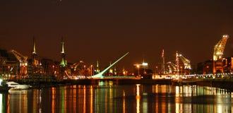 Buenos Aires de Night Imagenes de archivo