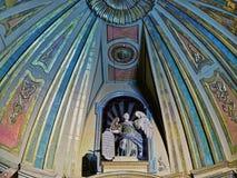 BUENOS AIRES, 15 DECEMBER, 2016 - Binnenland van Kathedraal Royalty-vrije Stock Afbeeldingen