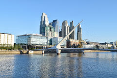 Buenos Aires - December 2, 2015: Day light view of Puerto Madero Stock Photos