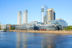 Buenos Aires - December 2, 2015: Day light view of Puerto Madero Royalty Free Stock Images