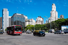 Buenos Aires Downtown Royalty Free Stock Photo