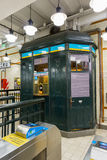 BUENOS AIRES, el 20 de enero de 2016 - estación de metro Imágenes de archivo libres de regalías