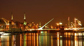 Buenos Aires em Noite Imagem de Stock Royalty Free