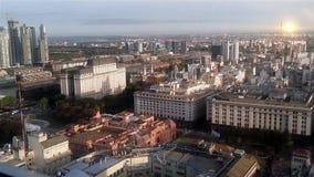 Buenos Aires från över stock video
