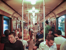 Buenos Aires gammal gångtunnel Royaltyfria Foton