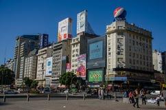Buenos Aires gata 3 Arkivfoton