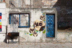 Buenos Aires Graffiti, Argentina Royalty Free Stock Photo