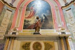 BUENOS AIRES, 20 JANUARI, 2016 - de Metropolitaanse Kathedraal van Buenos aires Royalty-vrije Stock Foto's