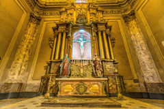 BUENOS AIRES, 20 JANUARI, 2016 - de Metropolitaanse Kathedraal van Buenos aires Stock Foto's