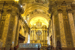 BUENOS AIRES, JANUARY 20, 2016 - Buenos Aires Metropolitan Cathedral Royalty Free Stock Images