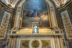 BUENOS AIRES, JANUARY 20, 2016 - Buenos Aires Metropolitan Cathedral Royalty Free Stock Image