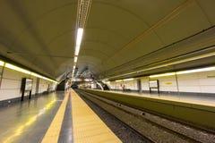 BUENOS AIRES, JANUARY 30, 2016 - Cordoba subway station Royalty Free Stock Photography