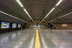 BUENOS AIRES, JANUARY 30, 2016 - Cordoba subway station Royalty Free Stock Images