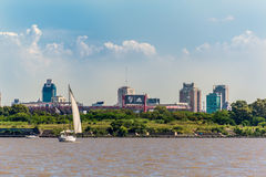 BUENOS AIRES - JANUARY 2: A general view of the River Plate Stad Stock Photography