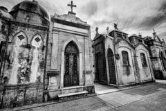 BUENOS AIRES, JANUARY 30, 2016 - La Recoleta Cemetery, located in the Recoleta neighborhood Stock Photos