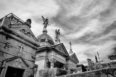 BUENOS AIRES, JANUARY 30, 2016 - La Recoleta Cemetery, located in the Recoleta neighborhood Stock Images