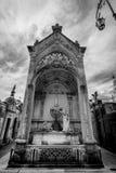 BUENOS AIRES, JANUARY 30, 2016 - La Recoleta Cemetery, located in the Recoleta neighborhood Royalty Free Stock Photo
