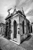 BUENOS AIRES, JANUARY 30, 2016 - La Recoleta Cemetery, located in the Recoleta neighborhood Royalty Free Stock Image