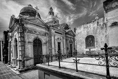 BUENOS AIRES, JANUARY 30, 2016 - La Recoleta Cemetery, located in the Recoleta neighborhood Stock Photo