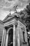 BUENOS AIRES, JANUARY 30, 2016 - La Recoleta Cemetery, located in the Recoleta neighborhood Stock Photography