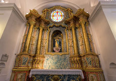 BUENOS AIRES, JANUARY 2, 2016 - San Ignacio Roman Catholic church Stock Photos