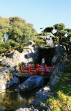 Buenos Aires. Japanese garden in the spring. Japanese culture in Buenos Aires, the capital of Argentina Royalty Free Stock Photo