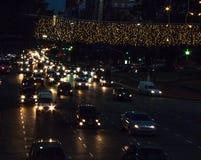 BUENOS AIRES, LA ARGENTINA - DICIEMBRE DE 2016: Yendo a casa, el venir del ` s del Año Nuevo Imágenes de archivo libres de regalías