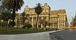 Buenos aires landmark Stock Photo