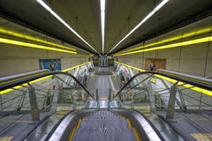 BUENOS AIRES, le 20 janvier 2016 - station de métro de Humberto Primo Photo stock