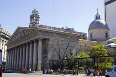 Buenos Aires Metropolita Katedra Zdjęcia Royalty Free