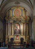 Buenos Aires Metropolitan Cathedral. Buenos Aires, Argentina  - 20th October 2015: Metropolitan Cathedral, interior Stock Images