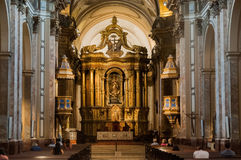 Buenos Aires Metropolitan Cathedral Interior. Image from the inside of the Catedral Metropolitana, the metropolitan Cathedral of Buenos Aires Royalty Free Stock Photos