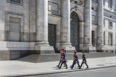 Buenos Aires miasta uliczny życie fotografia stock