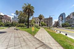 Buenos Aires miasta uliczny życie zdjęcia royalty free