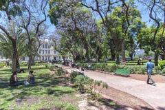 Buenos Aires miasta uliczny życie zdjęcie royalty free