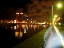 Buenos Aires na noite Imagem de Stock Royalty Free